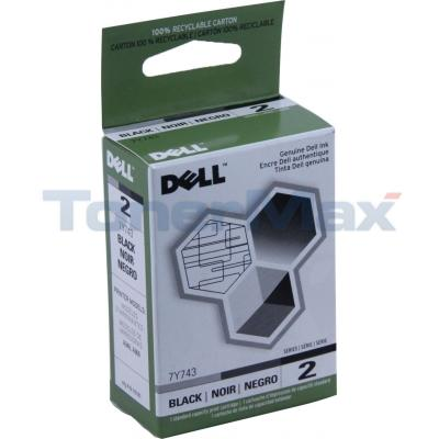 DELL SERIES 2 PRINT CARTRIDGE BLACK
